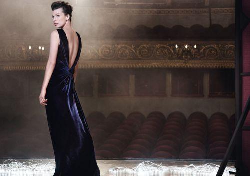 Милла Йовович в рекламной кампании Escada. Осень  2010
