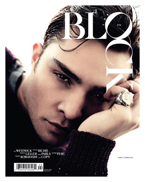Эд Вествик в журнале The Block 2011