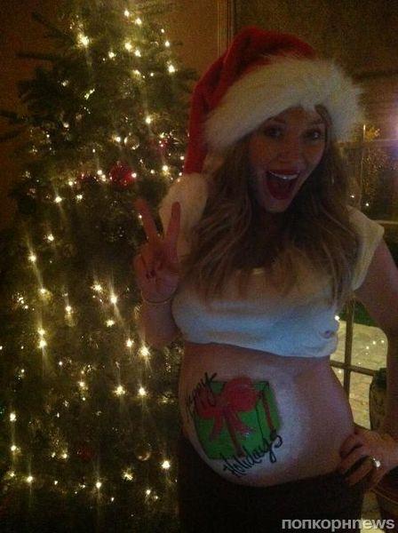 Рождественское поздравление от  Хилари Дафф