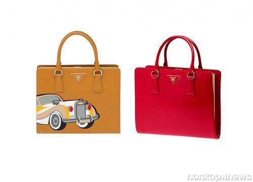 Коллекция сумок Prada. Весна 2012