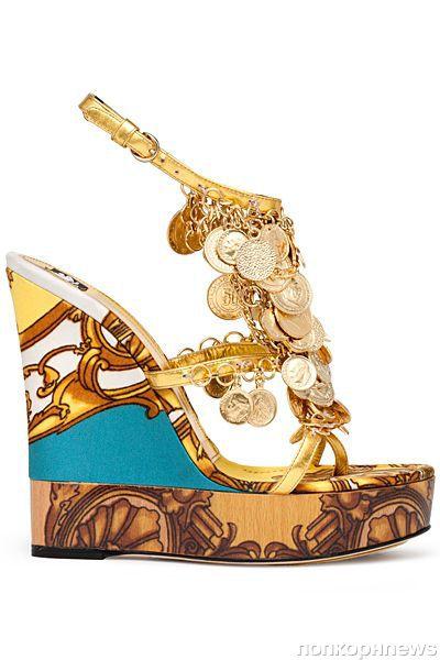 Коллекция обуви D&G. Весна 2012