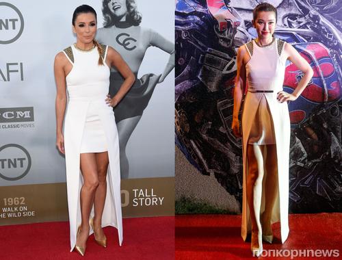 Fashion battle: Ева Лонгория и Ли Бинбин