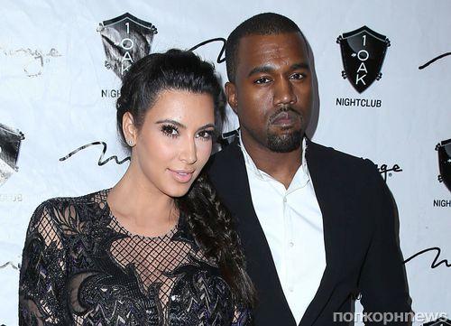 Ким Кардашян и Канье Уэст определились с датой свадьбы