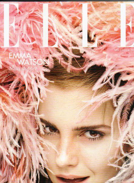 Эмма Уотсон в журнале Elle UK. Ноябрь 2011