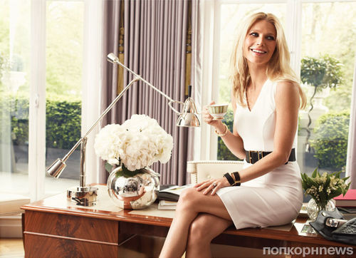 Гвинет Пэлтроу в журнале Vogue Испания. Октябрь 2013