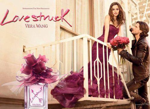 Видео: рекламный ролик аромата от Веры Ванг Lovestruck с Лейтон Мистер