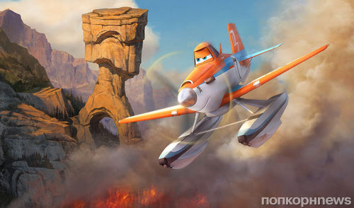 """Второй трейлер мультфильма """"Самолеты: Огонь и вода"""""""