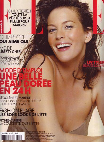 Лив Тайлер в журнале Elle. Франция. Июнь 2009