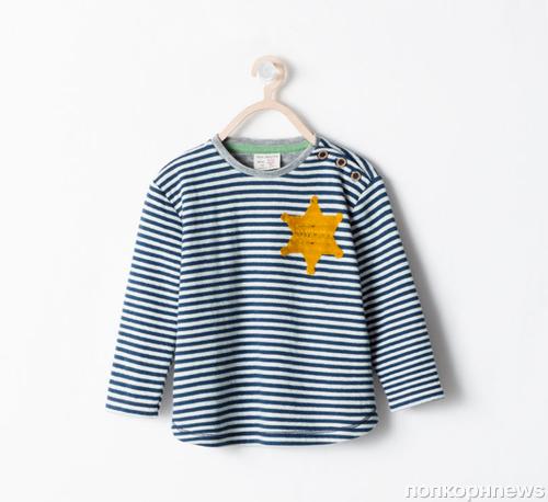 Zara изъяли из продажи детскую футболку из-за сравнения с робой еврейскийх заключенных концлагерей