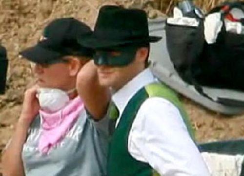Первый взгляд на костюм Зеленого Шершня
