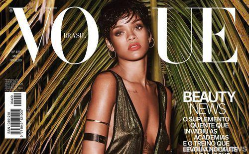 Update: Рианна в журнале Vogue. Бразилия. Май 2014
