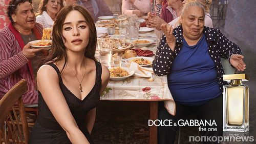 Эмилия Кларк и Кит Харингтон снялись в рекламной кампании Dolce & Gabbana