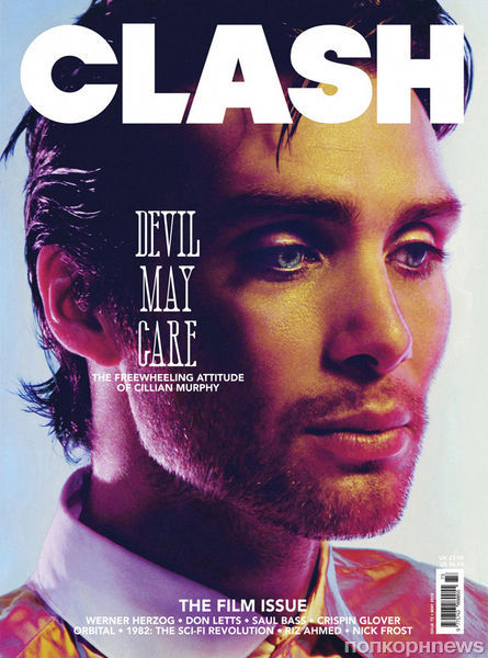 Киллиан Мерфи в журнале Clash. Май 2012