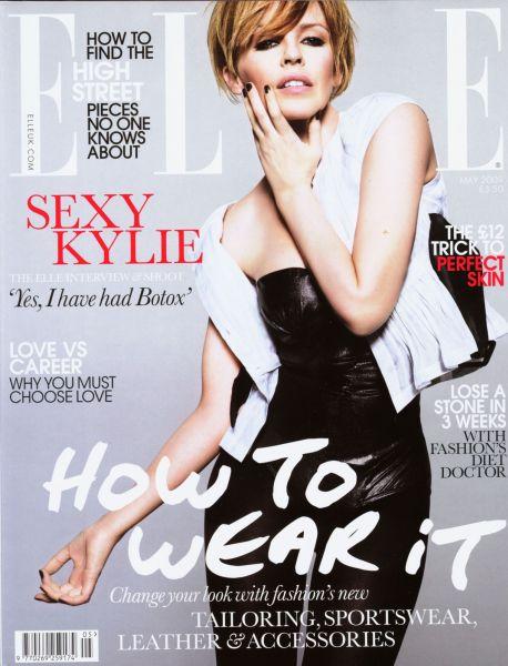 Кайли Миноуг в журнале Elle. Май 2009