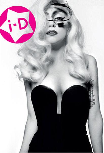 Lady Gaga в журнале  i-D