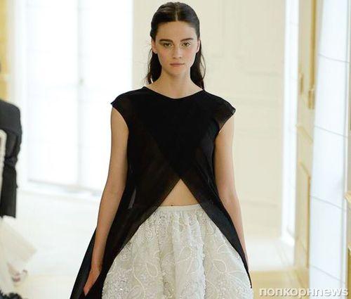 Модный показ новой коллекции Dior Haute Couture, осень / зима 2017