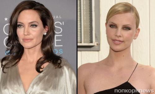 Шарлиз Терон и Анджелина Джоли объявили друг другу «войну»