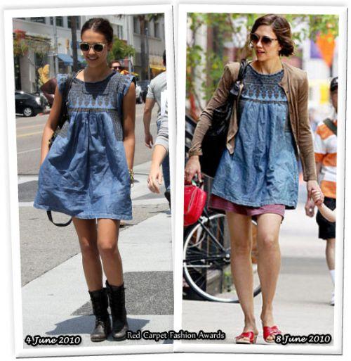 Fashion battle: Джессика Альба и Мэгги Джилленхол