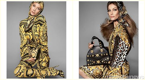Versace объединил в рекламной кампании Наоми Кэмпбелл, Жизель Бундхен и Кристи Терлингтон