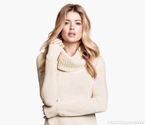 Даутцен Крез в рекламной кампании H&M. Осень 2013: новые кадры