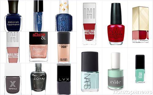 Модные лаки для ногтей лета 2016: фото трендов