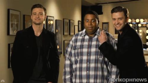 Джастин Тимберлейк в промо-ролике SNL