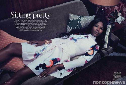 Наоми Кэмпбелл в журнале Vogue. Австралия. Май 2014