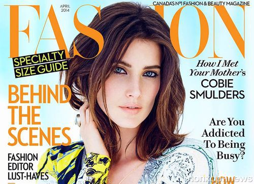 Коби Смолдерс в журнале Fashion. Апрель 2014