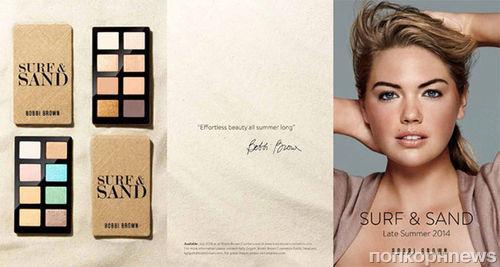 Кейт Аптон в рекламной кампании Bobbi Brown: первые кадры