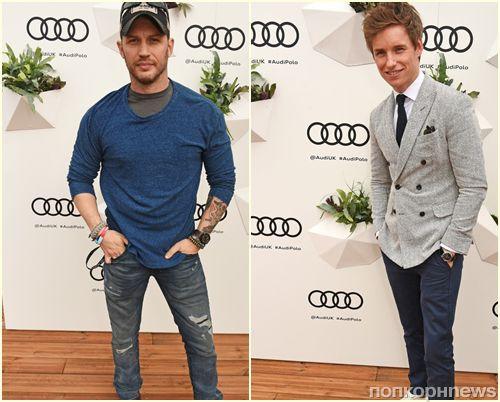 Том Харди, Эдди Редмэйн и другие британские звезды на 2017 Audi Polo Challenge