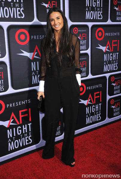 Звезды на Target's AFI Night At The Movies