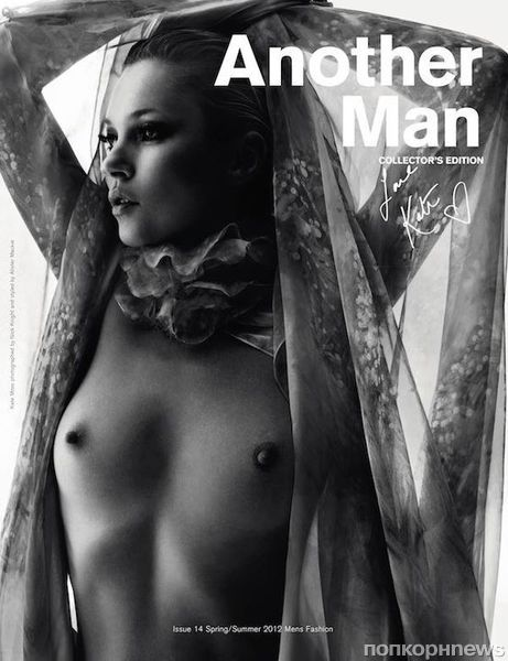 Кейт Мосс в журнале Another Man. Весна / лето 2012