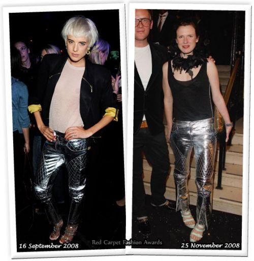 Fashion battle: Агнес Дин и Кэти Гранд