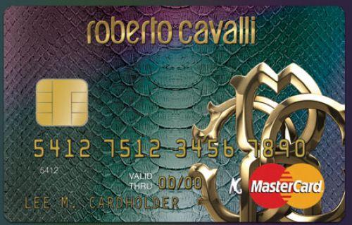 Интересные штучки: кредитная карта от Roberto Cavalli