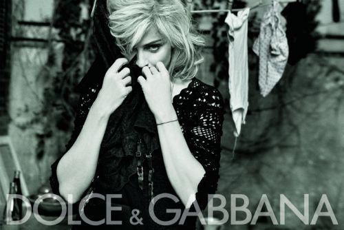 Новые фото Мадонны для D&G