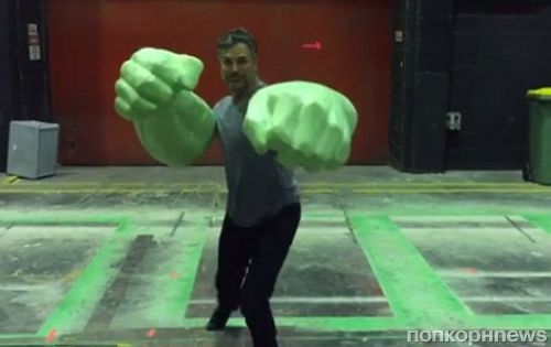 Марк Руффало показал руки Халка на съемках фильма «Тор: Рагнарек»