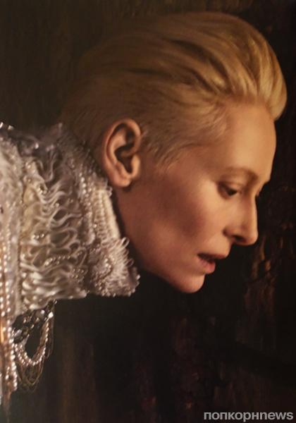 Тильда Суинтон в рекламной кампании Chanel