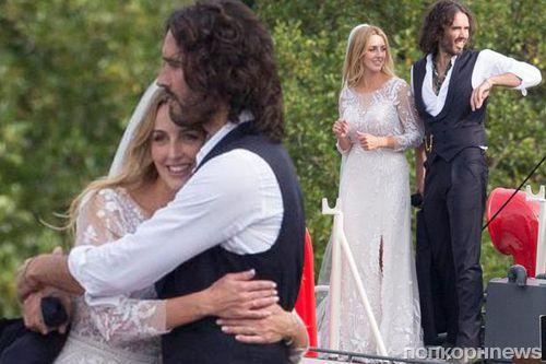 Бывший муж Кэти Перри Рассел Брэнд во второй раз женился