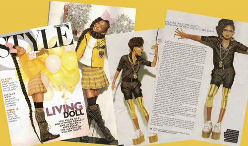 Уиллоу Смит в журнале Style