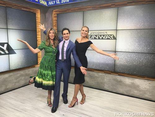 Хайди Клум отметила юбилей шоу «Проект «Подиум»