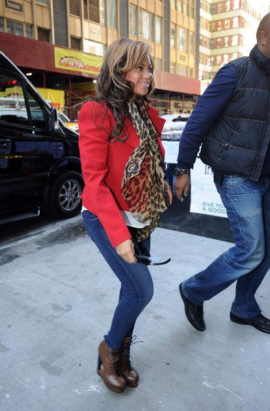 Беремнная Бейонсе носит обувь на 12-ти сантиметровом каблуке