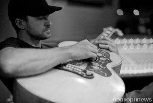 Джастин Тимберлейк на записи нового альбома