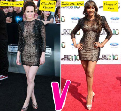 Fashion battle: Элизабет Ризер и Вивика А. Фокс