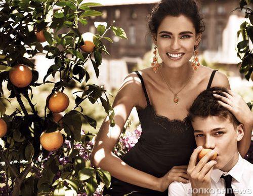 Бьянка Балти в рекламной кампании ювелирной линии Dolce&Gabbana