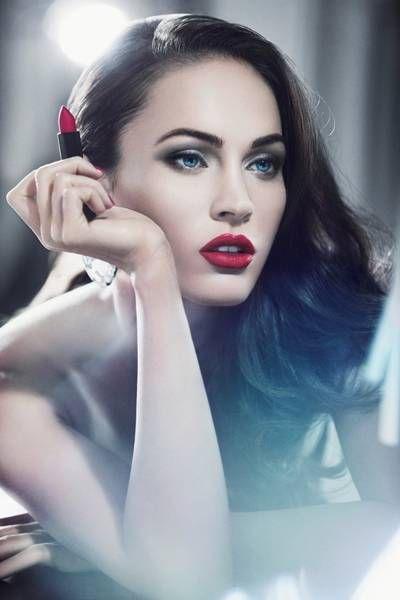 Реклама помады Rouge D`Armani от Giorgio Armani Beauty с Меган Фокс