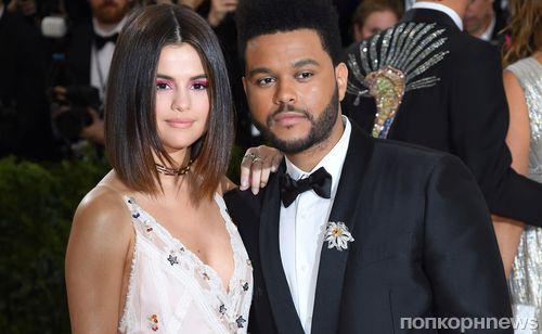 Селена Гомес и певец The Weeknd расстались после 10 месяцев отношений