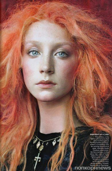 Сирша Ронан в журнале Vogue US. Декабрь 2011