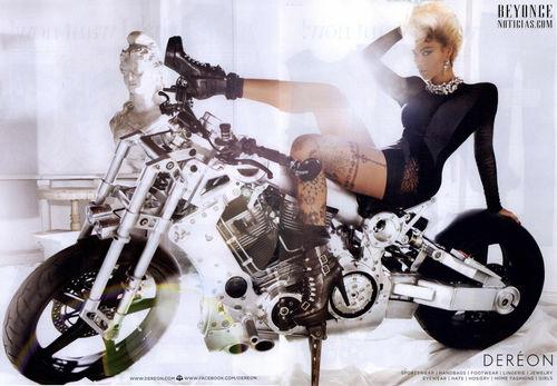 Бейонсе в рекламе House of Dereon. Осень 2010