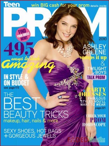Эшли Грин в журнале TEEN PROM