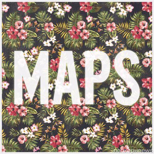 Новая песня группы Maroon 5 - Maps